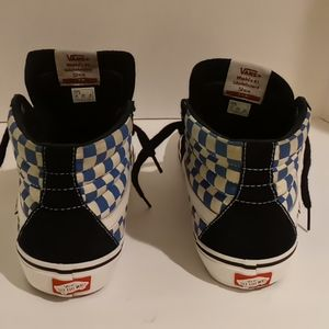 Vans Shoes - Vans Sk8- HI Checkerboard Skate Shoes